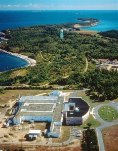 Aerial View of the Plum Island Animal Disease CenterPhoto courtesy of the Agricultural Research Service of the U.S. Department of Agriculture