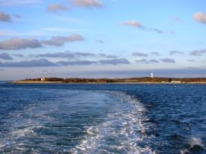 Plum Island in the distance