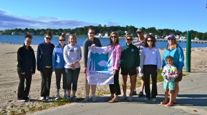Cleanup of Cummings Beach in Stamford for ICC