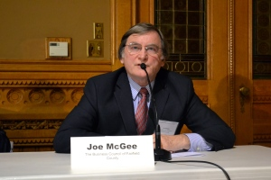Joe McGee of The Business Council of Fairfield County