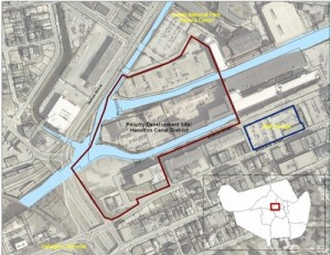 Hamilton Canal District TOD Priority Development Site (Credit: City of Lowell)