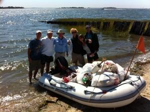 Mark Watkins - Norwalk Island cleanup