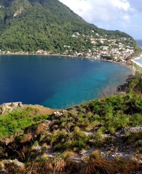 Save the Sound intern documents her experiences on Dominica: The NatureIsland
