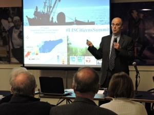 CFE/Save the Sound president Don Strait opened the day.