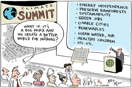 Cartoon by Joel Pett.