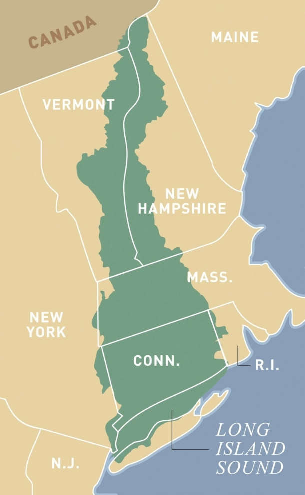 The Long Island Sound watershed covers more than 16,000 square miles in six states.