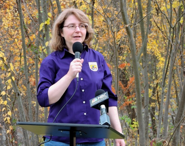 Lori Benoit, of the U.S. Fish and Wildlife Service