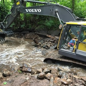 Press Release: Upper Quinnipiac River Flows Freer as Second Dam Comes Down