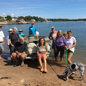 Two Views: International Coastal Cleanup Day on the Farm River